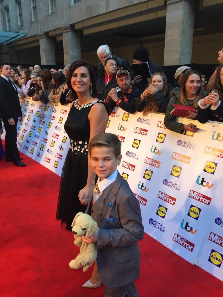 RT @JoxMccaffery: @bbcmerseyside @PrideOfBritain @carolvorders @AlderHeyCharity ted's  red carpet moment - cant wait to watch the show http…