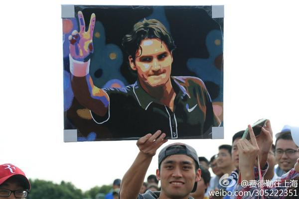 #ArtMeetsTennis cc @tennisauthor  @Scarlett_Li: A great painting by a Chinese fan of @rogerfederer #shanghai  http://t.co/TcXQLIpTvl""