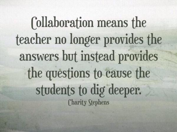 Collaboration fuels deeper learning #ulearn14 http://t.co/3RIwQ3TniC