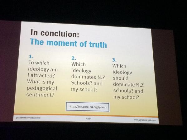 Time for a choice! What do you choose? What ideology speaks to you? #ulearn14 http://t.co/hsYU4x3Pw9