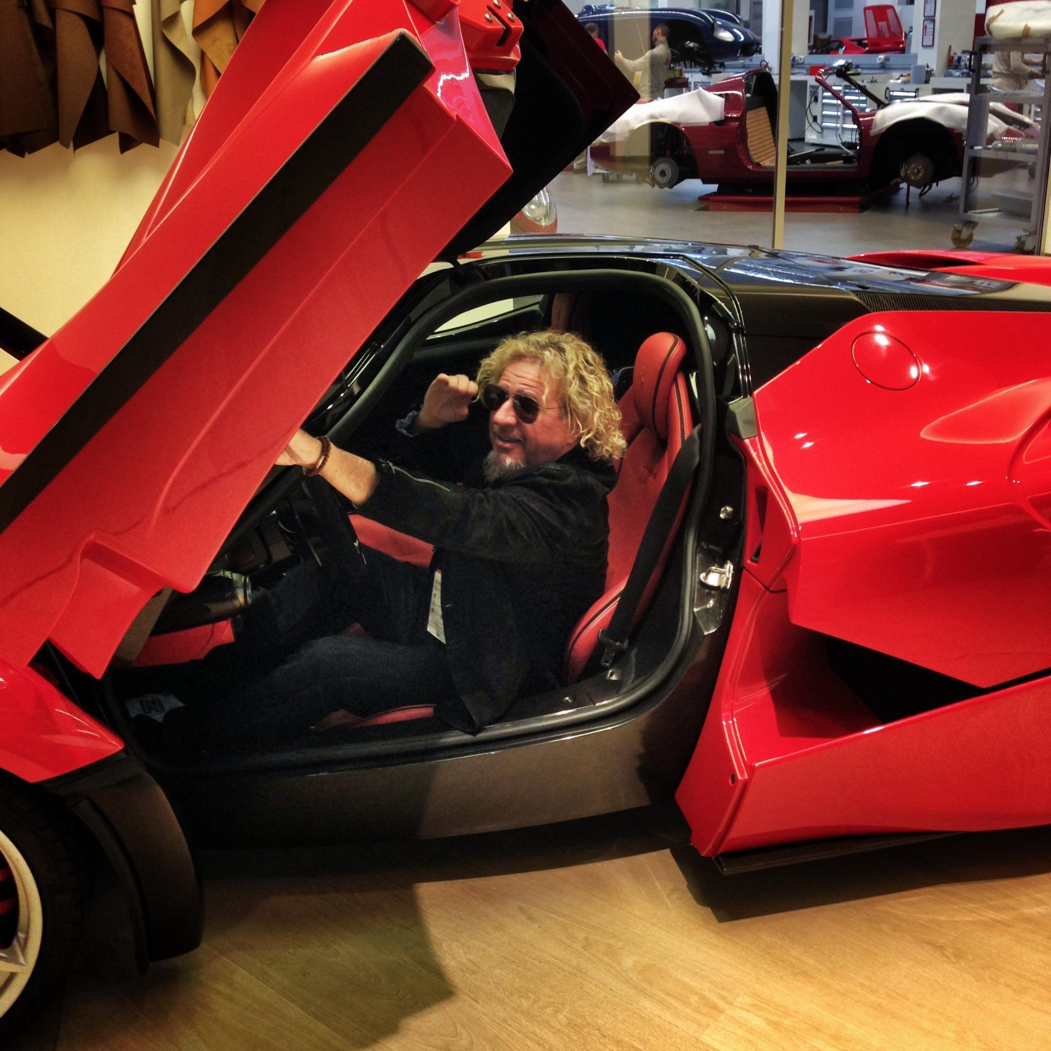 Sammy Hagar On Twitter Quot Visiting The Ferrari Factory To