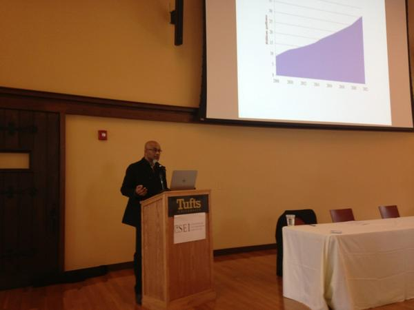 Prof U. Chakrovarty @TuftsUniversity provides insights on relationship between energy & poverty @ sem w @SEIclimate http://t.co/fe6enY1amp