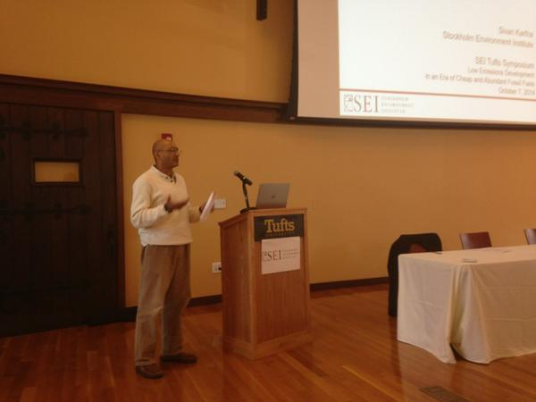 SEI's Sivan Kartha address equity dimensions of Low Carbon Development,  @SEIclimate @TuftsUniversity @NewClimateEcon http://t.co/V5i6u1USEt