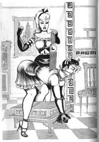 Bdsm women as furniture