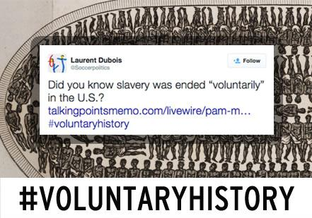 #VoluntaryHistory mocks controversial changes to US history curriculums  http://t.co/IIy3xn9JZj @Soccerpolitics http://t.co/U5MYVsOYrh
