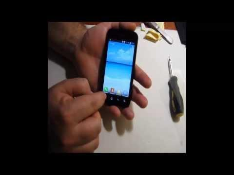 Сенсорный телефон на андроиде