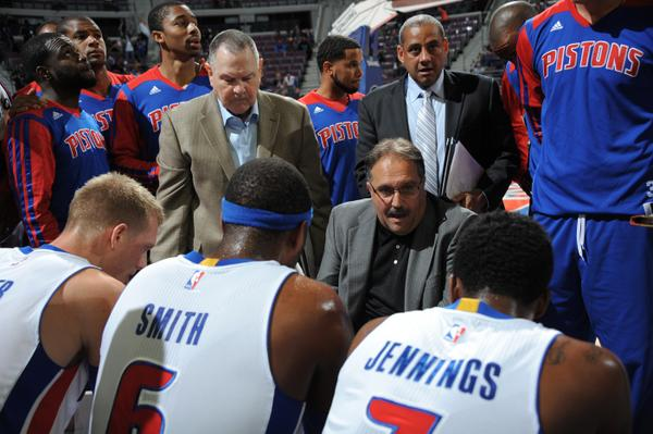 """Detroit Pistons on Twitter: """"Stan Van Gundy's #Pistons coaching debut ended  with a win. @Keith_Langlois has his quick take http://t.co/JRmFvjiHRg  http://t.co/oRFmqpRaem"""""""