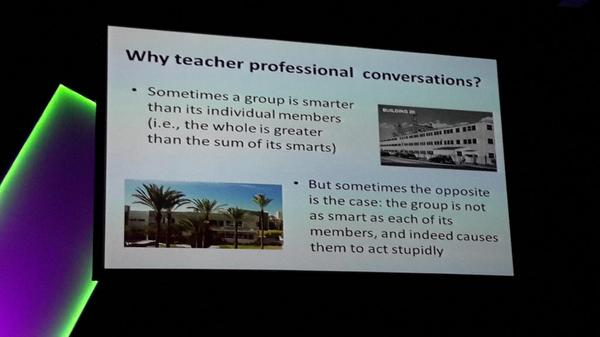 A question from Dr Lester.  #ulearn14 http://t.co/TU8G3ogc57