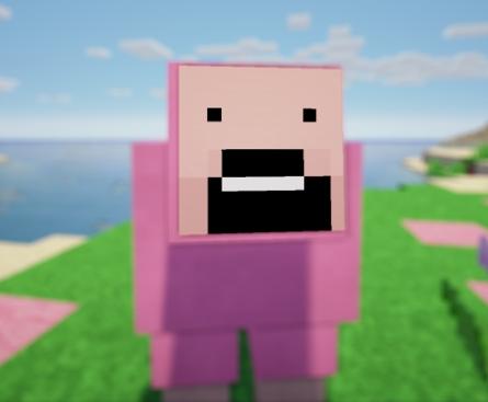 Pink sheep explodingtnt - photo#1
