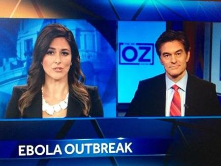 Dr. Oz: Ebola cases possible in Oklahoma City http://t.co/9kHejW2fVO http://t.co/IlSem3NnkJ