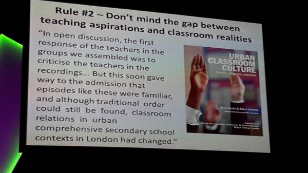 There is often a big gap between what we talk about & do in the classroom.  #ulearn14 http://t.co/WlMiSSEhcU