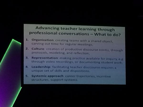 Professional learning conversations. #ulearn14 http://t.co/9E7bB1Ha2x