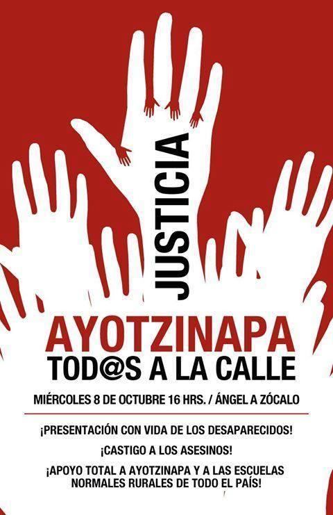Ojalá que la #LunaRoja toque sus corazones y les quite la indiferencia para salir a marchar #JusticiaParaAyotzinapa http://t.co/7wMuIRUMnh