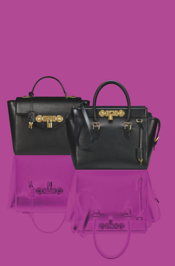 74a39e665047 Redefine your style with the luxurious  Versace Lock Signature bag http   t