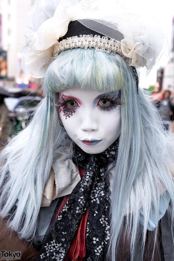 Tokyo Fashion On Twitter Japanese Shironuri Artist Cuteminori In