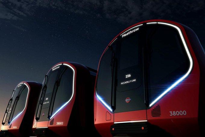 ロンドン地下鉄が新車両で無人走行可能に。デザインも一新。 http://t.co/gNqKLl1kqM http://t.co/K3sxj5NNCf