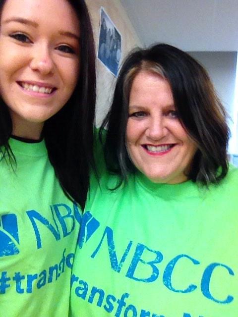 LPN student Lacey Barnaby ready to #transformNB ! Listuguj FN representing ! @LMDC_Listuguj @LisMigGov @myNBCC http://t.co/H3Gm5a6RYC