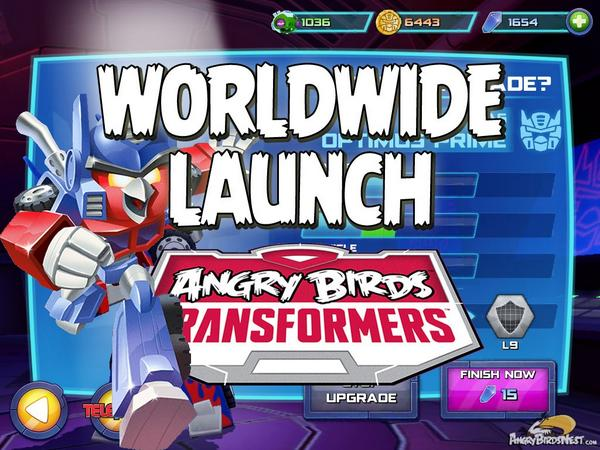 Transformers, roll out! #AngryBirdsTransformers is now available worldwide for #iOS http://t.co/AmPyIUdij3 http://t.co/DEsvz4UbU3