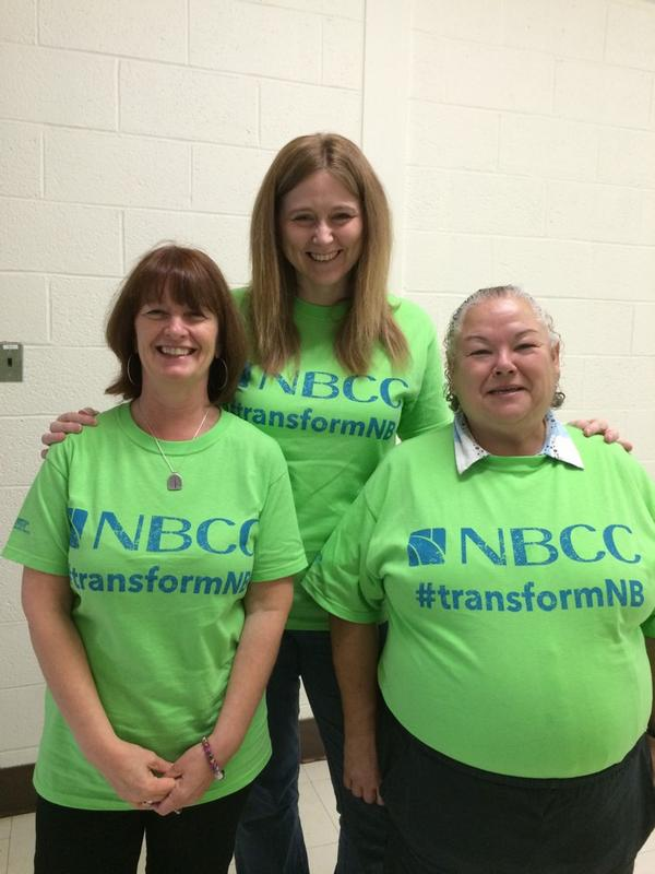 Student Success at @myNBCC in St. Andrews getting ready to #transformNB http://t.co/N2c3bpYt3n