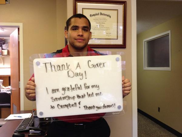 Thumbnail for #CampbellTAGDay 2014: Thank you, donors!
