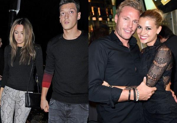 Mesut Ozil Mandy Capristo Bayern : Mesut Ozil accused