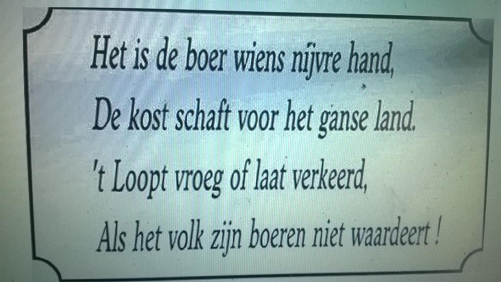 spreuken over boeren Marjolein de Kreij on Twitter: