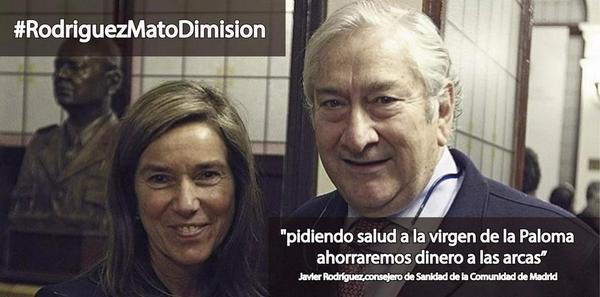 El consejero de sanidad de #Madrid confia en la virgen, nosotras en los protocolos y los profesionales http://t.co/a6WMnkspi1