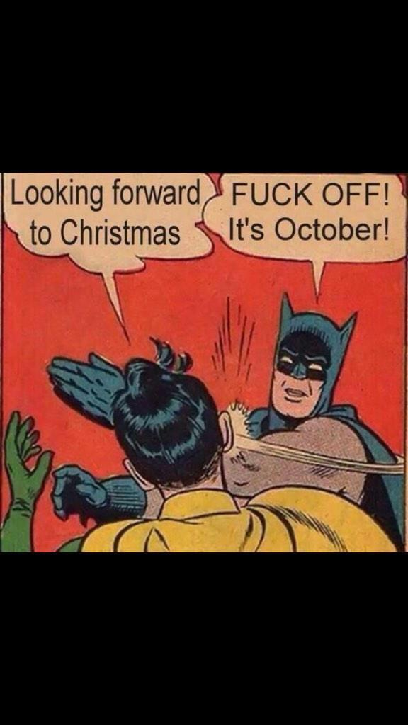 Ha ha. Merry Christmas batman! http://t.co/apF1kdxUdg