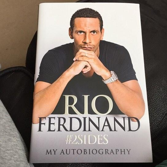 RT @ZeeshanMasih01: Look what just turned up, can't wait to start reading this tonight.. 📖 @rioferdy5 you legend. #2Sides. #RioFerdinand. h…
