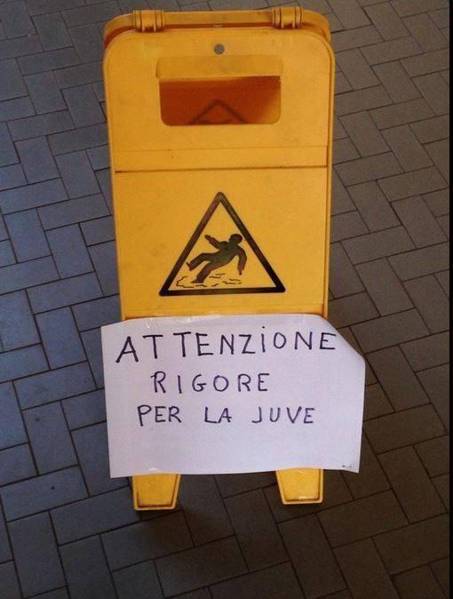 Rigore per la Juventus