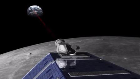 ESA's Zoran Sodnik: briefing on the ESA/NASA laser comm project - they achieved 80 Mbps Moon-Tenerife! #SpaceOptics http://t.co/BRea8kmv7x