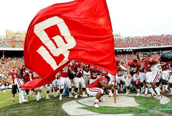 Good morning, Sooners. Retweet if you're ready to #BeatTexas http://t.co/RigMDfsmLM
