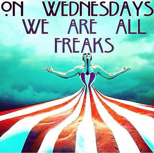 Let the countdown begin! #AHSFX #FreakShow debuts tonight! Can you guess our next keynote?     #WeAreAllFreaks http://t.co/v8gaPL0Bls