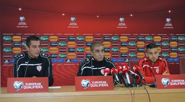 Macedonia's press conference