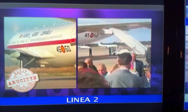 @Arucitys_8Tv demuestra que el avión que trasladó al infectado de ébola es el que utilitza la Casa Real. #ebolavion http://t.co/XCJRBlJToK