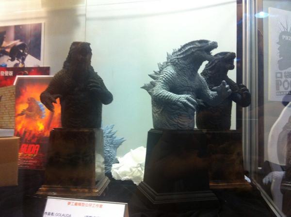 台湾の原型師、李永丞さんが作るのレジェンド版ゴジラ、音声を出る事ができるのようです。 http://t.co/IjUJIjTGHr