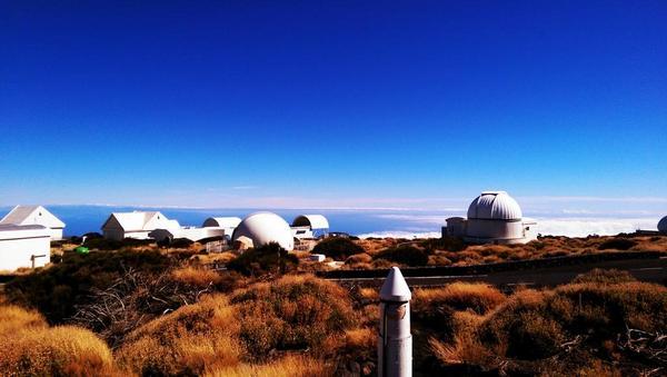 #stunninglybeautiful Just arrived at the Teide observatory #iac #spaceoptics http://t.co/fsZH04uuqD