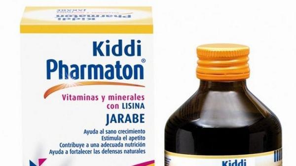 kiddi pharmaton jarabe dosis pediatrica