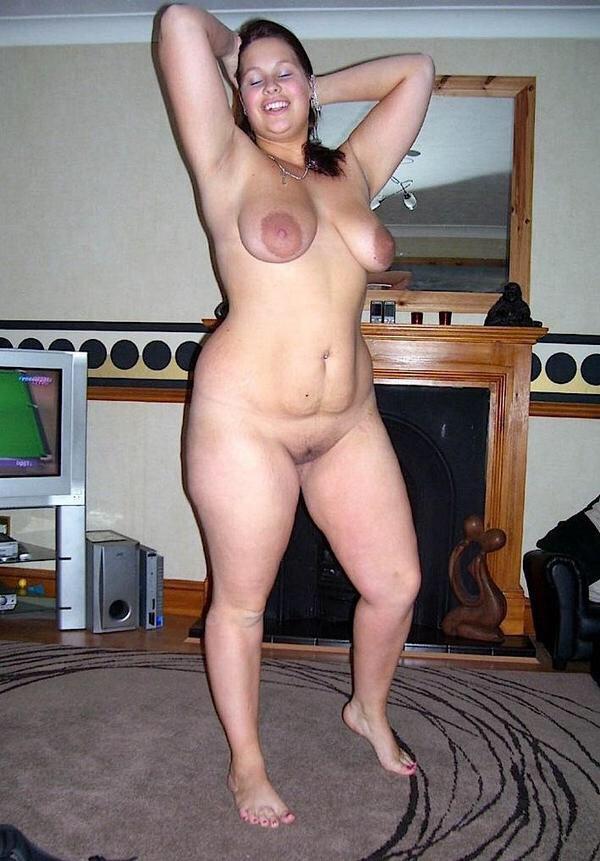 Chubby mom hairy