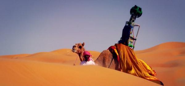 Google turned a camel into a street view car to map the LiwaDesert http://t.co/yEElSLFW8G http://t.co/5oL9dakFrg