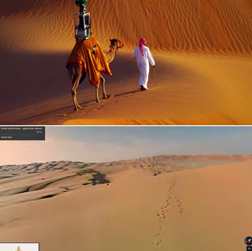 Google introduces camel view in the vast Liwa Desert: http://t.co/kLHYDX3QBp http://t.co/w4BhTFG1F6