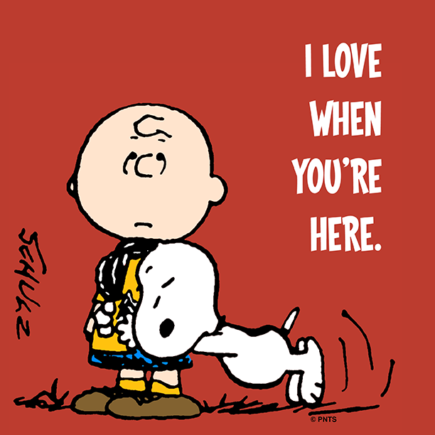 "PEANUTS On Twitter: ""I Love When You're Here. Http://t.co"