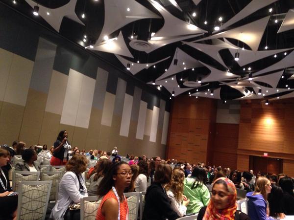 Head Stemette @aimafidon tells how @stemettes is building a community of women leaders #GHC14 http://t.co/5tnp8wEDJq