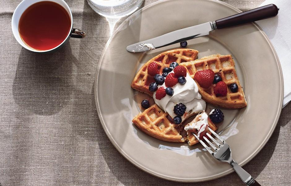 RT @bonappetit: So?waffles for dinner are a thing, right? http://t.co/wm5IxMRu8s http://t.co/6fCpaBwrqE