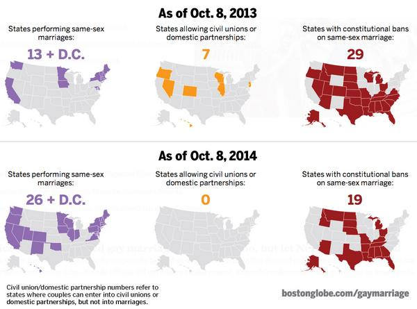 The Boston Globe on Twitter See a map of where gay marriage is