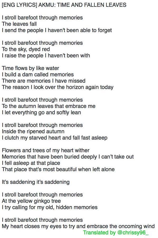 Lyric lean on me with lyrics : AKMU Indonesia on Twitter:
