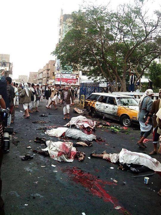 استهداف الحوثيين في صنعاء بسيارة مفخخة