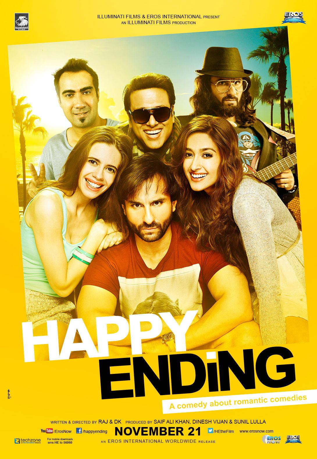Happy Ending Trailer and First Look Posters Hindi Movie ...