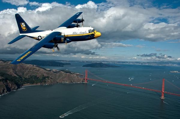Behind the scenes with the Blue Angels