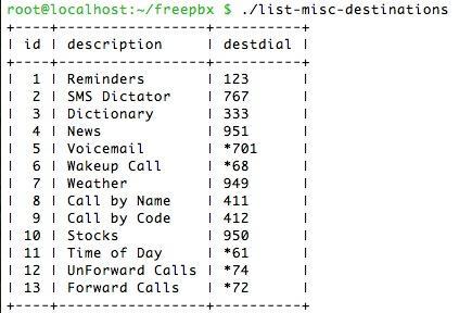 I HAVE A DREAM - Command Line Utilities for FreePBX + Drag